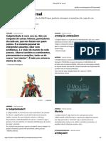 Padlet - Manchete de Jornal - Subjetividade