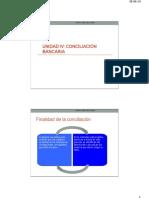Gestión Financiera Otoño 2014 _ Conciliación