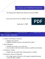 Consistent Pricing Model for Volatility