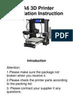 A6 3D Printer Installation Instructions-2016-7-9.pdf