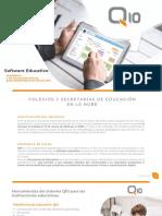 Proyecto Plataforma Q10 Virtual para Secretaria de Educacion