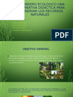 El sendero ecológico una alternativa didáctica para conservar