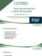 Alineadores de secuencia MUSCLE_ClustalW.pdf
