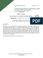 Students Bucky Ball_ as Novel Nano Material