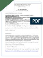 Guía 1. Conceptos Básicos de Comunicación