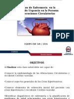 Clase Alteraciones Circulatorias