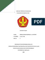 ANALISIS KECUKUPAN GIZI HIRMA DESRI (A22117103)