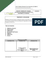 Instructivo Identificación, derivación y Traslado Caso Sospechoso de COVID-19