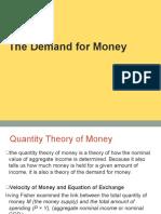 mishkin_09_c19 Money Demand