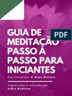 GUIA DE MEDITAÇÃO. PASSO A PASSO PARA INICIANTES