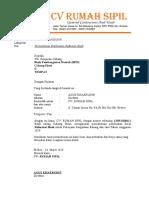Surat Permohonan Refrensi Bank