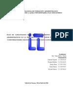 Fortalecimiento Procesos Administrativos Patios Productivos