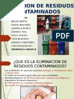 ELIMINACION DE RESIDUOS CONTAMINADOS PRIMEROS AUXILIOS EDITADO