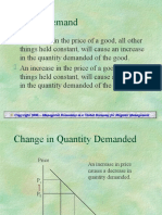 Basic Demand Supply & Equilibrium