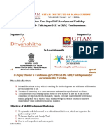 A Report on Four Days Skill Development Workshop (1)
