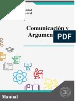 MANUAL DE COMUNICACIÓNY ARGUMENTACIÓN (Unidad I y II)