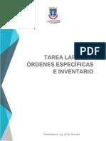 TAREA DE ORDENES ESPECIFICAS