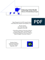 Enhancing Global Health
