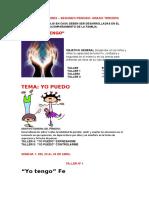 GUIAS DE ETICA Y VALORES 2° P. TERCERO