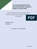 Artículo Dispositivo de Flexión