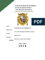 Cuarto Informe de Hidrologia (Tormentas)