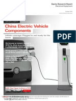 HSBC-China Electric Vehicle Components:Initiate Coverage,Plugged in and Ready for the Boom