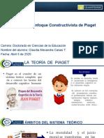 Claudia A Casas T. 2.2 Prsentación Enfoque Constructivista