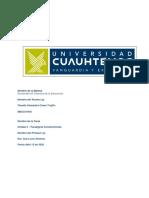 Casas Trujillo Claudia Actividad 3.2.- Mapa conceptual. Paradigma Constructivista