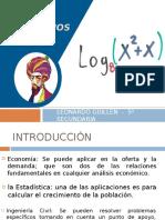 5 LEONARDO - LOGARITMOS