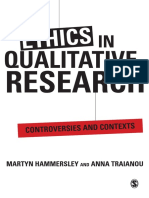 Martyn Hammersley, Anna Traianou - Ethics in Qualitative Research_ Controversies and Contexts-SAGE Publications (2012)