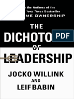 The Dichotomy of Leadership_ Balancing the Challenges of Extreme Ownership to Lead and Win