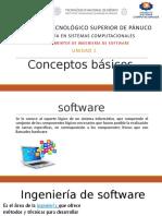 Conceptos básicos ING. DE SOFTWARE