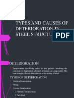 TYPES & CAUSES OF STEEL DETERIOARATION.pptx