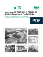 Dietary Management Strategies that Reduce N and P, project