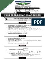 TD ANgles orientés et trigo PC&D