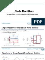3.Full Wave Rectifier