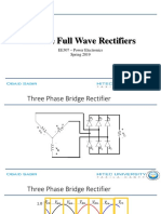 6b. 3 Phase Full Wave Rectifiers
