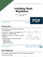8. Switch Mode Regulators