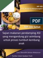 MPASI kmhm 2019