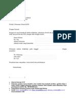 Form Pelunasan KPR