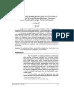 Elaborasi Reformasi Akuntansi Sektor Publik