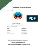 makala perkembangan intelektual dan sosial