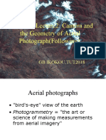 PHO331T Lecture2-Camera and Geometry of Aerial Photograph(Part2)