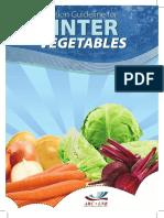 Production Guideline for Winter Vegetables