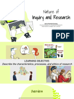 Lec 1- Nature of Inquiry and Research