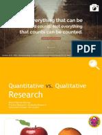 Lec 2- Quali vs Quanti