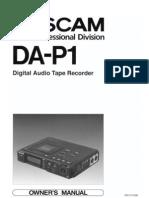DA P1 Manual