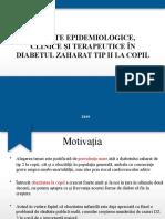 diabet zaharat la copil