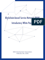 Blockchain-based Service Network (BSN) Introductory White Paper