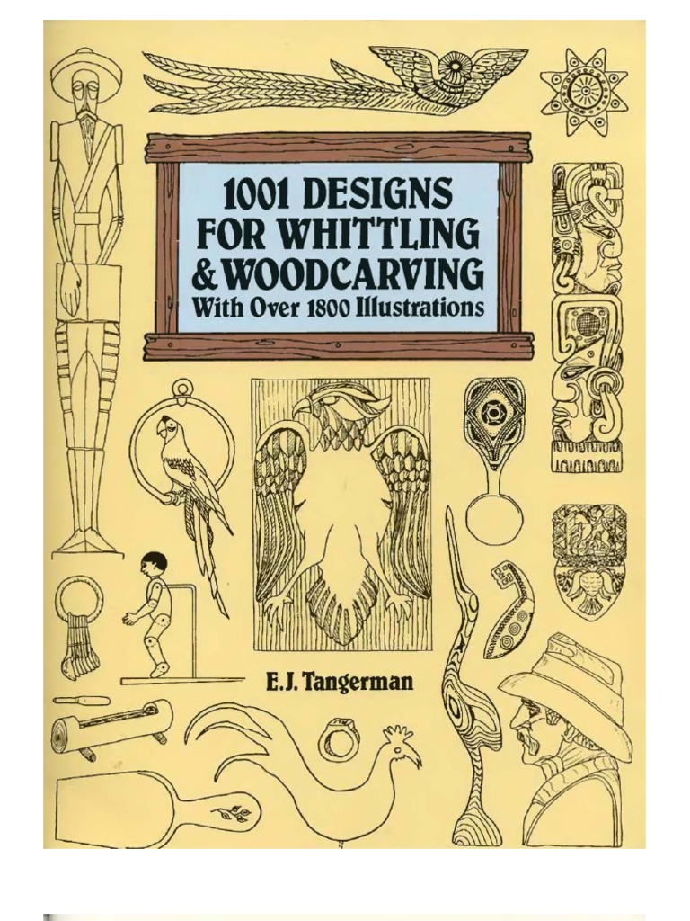 1001 designs for whittling and woodcarving fandeluxe Gallery